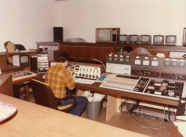 Engineer in station control center