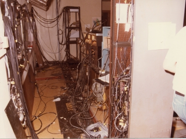 Wiring in station control center