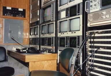 Control center at Telethon of Stars in Paducah (KY)