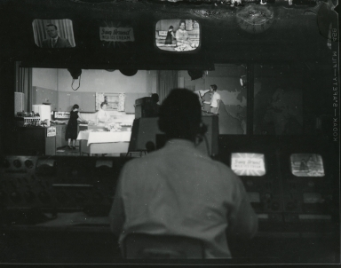 Control room during live program