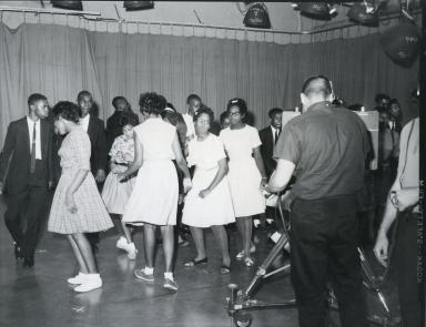 Dance Party program in studio