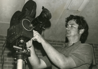Photographer Doug Harnice at Vienna (IL) Correctional Center