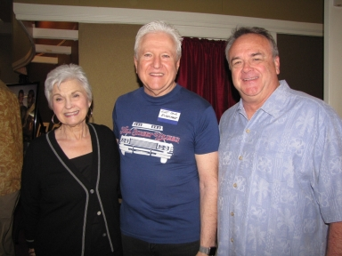 "Janice Crosno, Kurt David Englehardt and Terry Reeves at ""Old Timer's luncheon"""