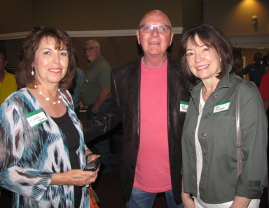 "Milinda Harnice and Syd and Patti Rodocker at ""Old Timer's luncheon"""