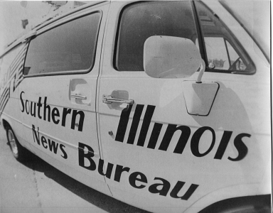 Southern Illinois News Bureau van