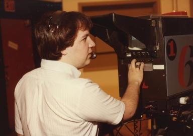 Cameraman Jeff Abell