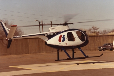 """Sky 6"" at the Paducah (KY) floodwall"