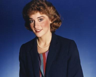 News anchor Bonnie Schrock