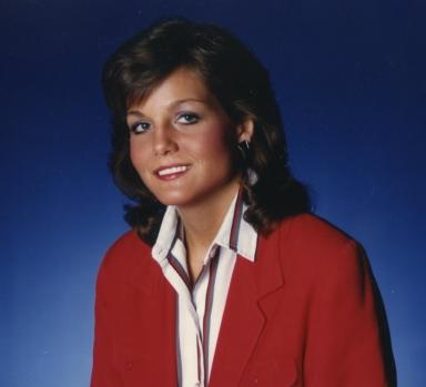News anchor Polly Van Doren