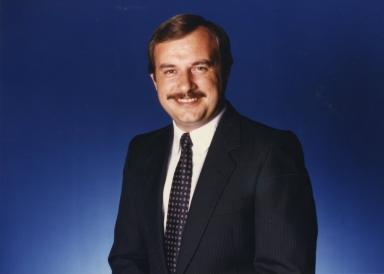 News anchor Steve Patton