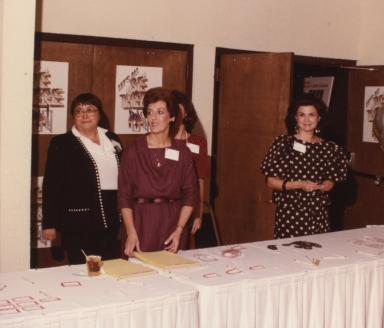 Mary Ellen Miller, Doty Siress, Janice Barnes Crosno