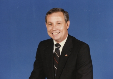 Local sales manager Don Van Cleve