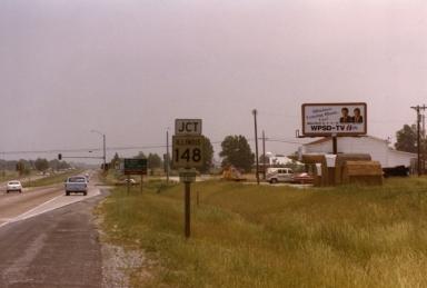 Illinois Bureau on Route 13 in Williamson County (IL)