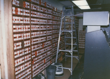 Videotapes used in master control