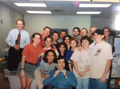 WPSD news team in 1999