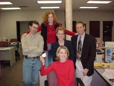 WPSD Morning Show team in 2001