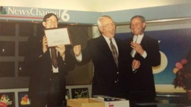 News vice-president Tom Butler's retirement party