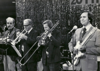 The Dan Steele band at the WPSD/Lion's Club Telethon of Stars in 1977