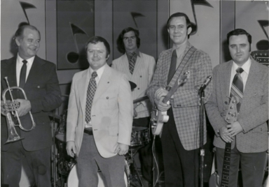 The Dan Steele band at the WPSD/Lion's Club Telethon of Stars in 1970