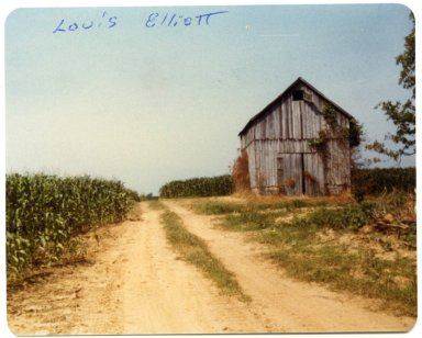 Barn on the Louis Elliot Farm