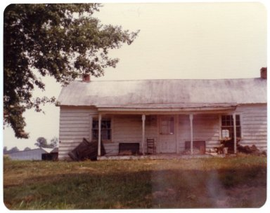 House on Hubert Childress Farm
