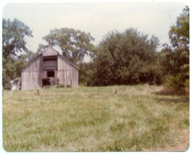 Barn on the Donnie Jett Farm