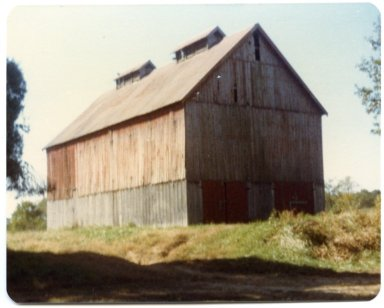 Barn on Gene Perkins Farm