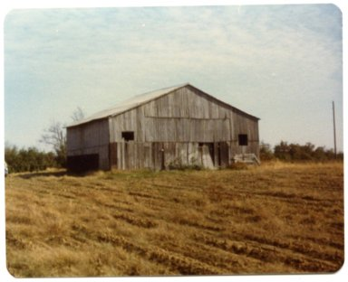 Barn on J.W. Shelby Farm