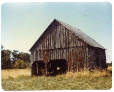 Barn on Guy Throgmorton Farm