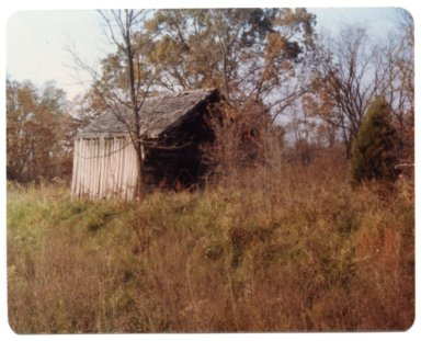 Old Corn Crib Near New Hope