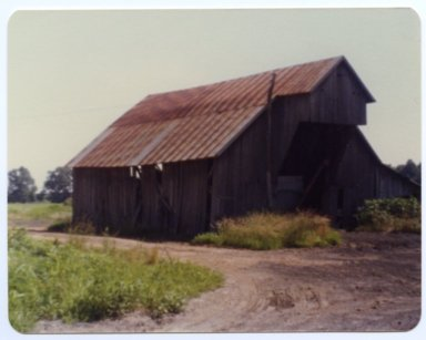 Barn on Jame Blaine Farm