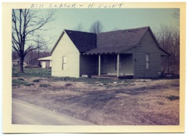Bill Leasor Home at High Point