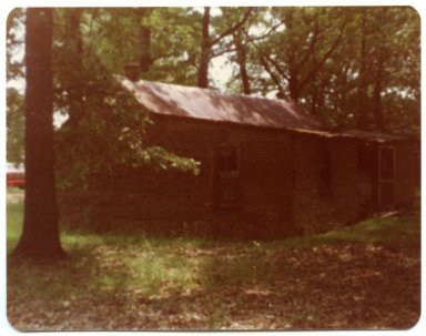 Back of Charlie Hall's Old Homeplace