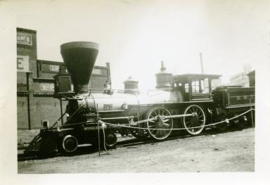 B and O Steam Engine