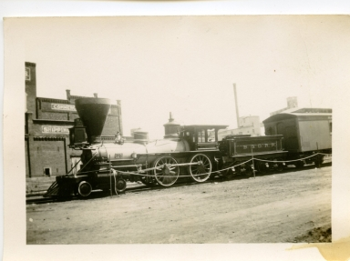 B and O Steam Engine