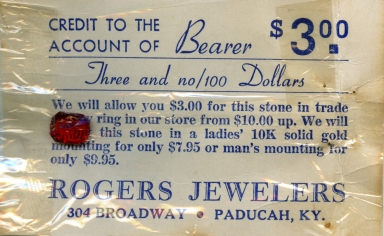 Rogers Jewelry Store Advertising