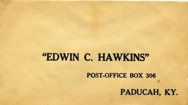 Edwin Hawkins Envelope