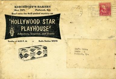 Kirchhoff's Bakery Envelope