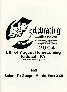 8th of August Emancipation Celebration 2004 Program
