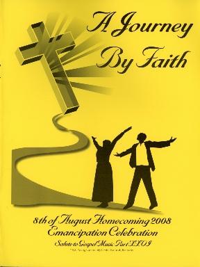 8th of August Emancipation Celebration 2008 Program