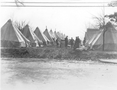 1937 Flood Camp