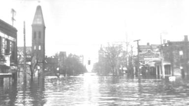 Broadway Near 9th Street
