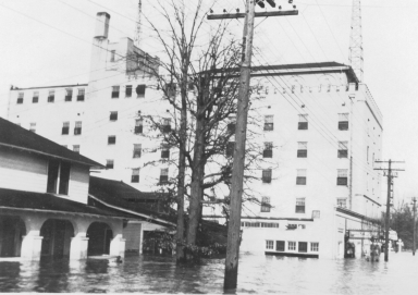 Flooding on the Ritz
