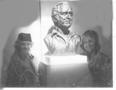 Julian Carroll Bust