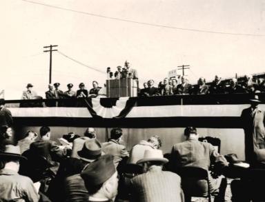 Truman at Kentucky Dam