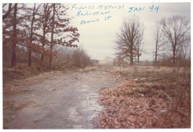 Federal Materials Relocation, Powell St, January 1984