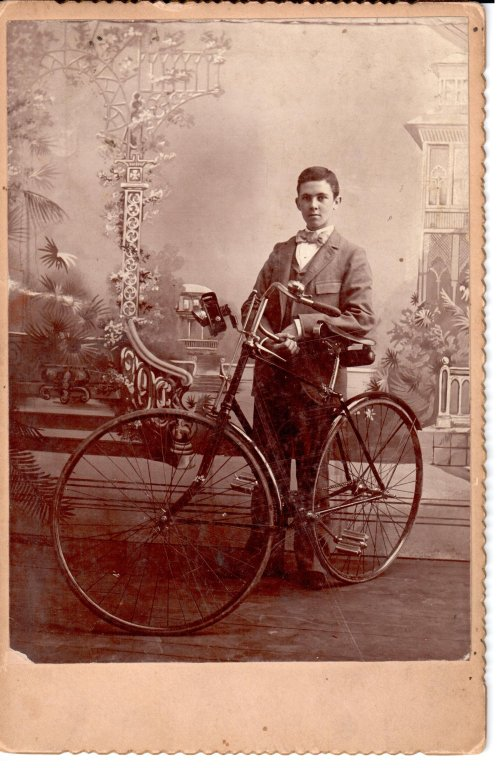 Boy With Bicycle