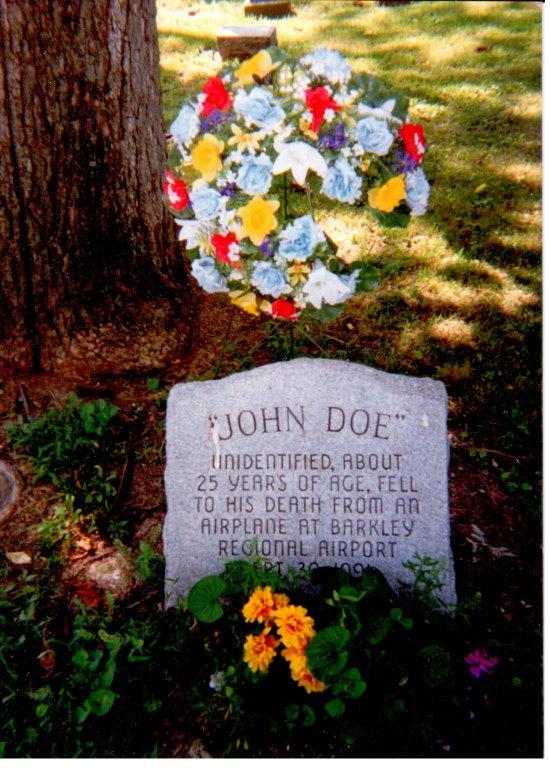 Oak Grove Cemetery, John Doe