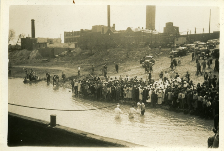 Baptism in the Ohio River