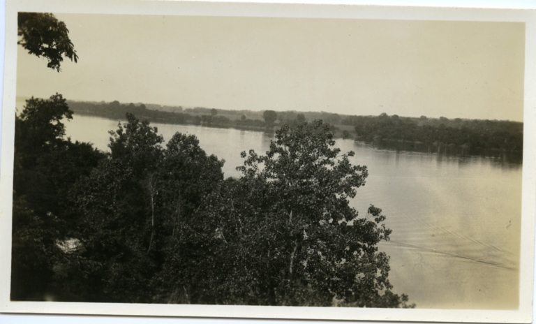 The River From the Bluffs
